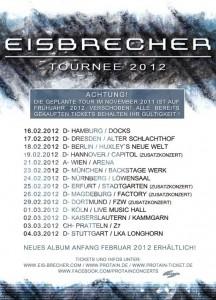 Eisbrecher Tour 2012